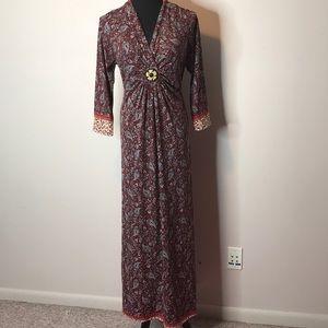 Ace Fashion paisley print dress